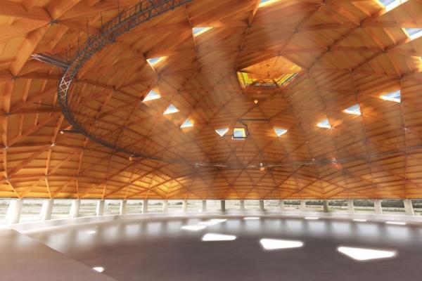 Cupola legno