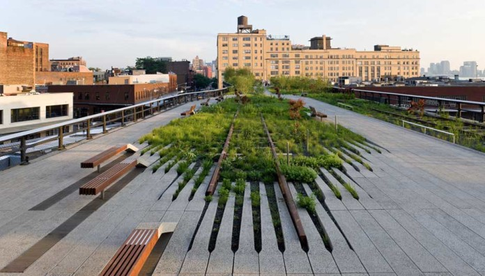 high line park,Close-Up Engineering