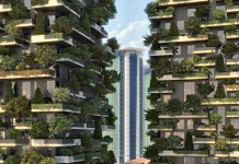 Residenze bosco verticale Milano esterni, Credits: milanoreporter.it/