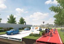 Addio asfalto, arriva la strada di plastica riciclata