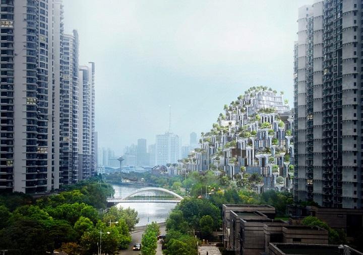 M50, una montagna di alberi per salvare Shangai