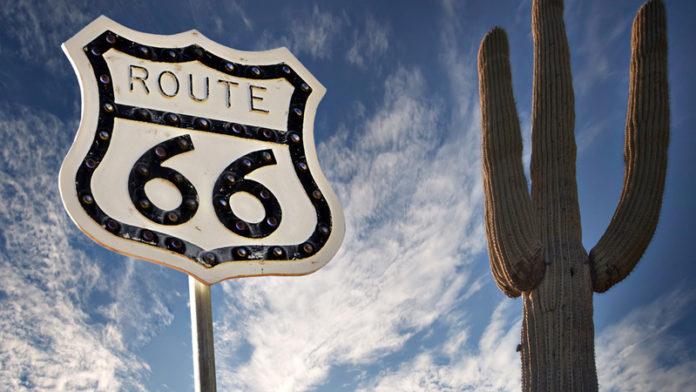Route66 autostrada a pannelli solari
