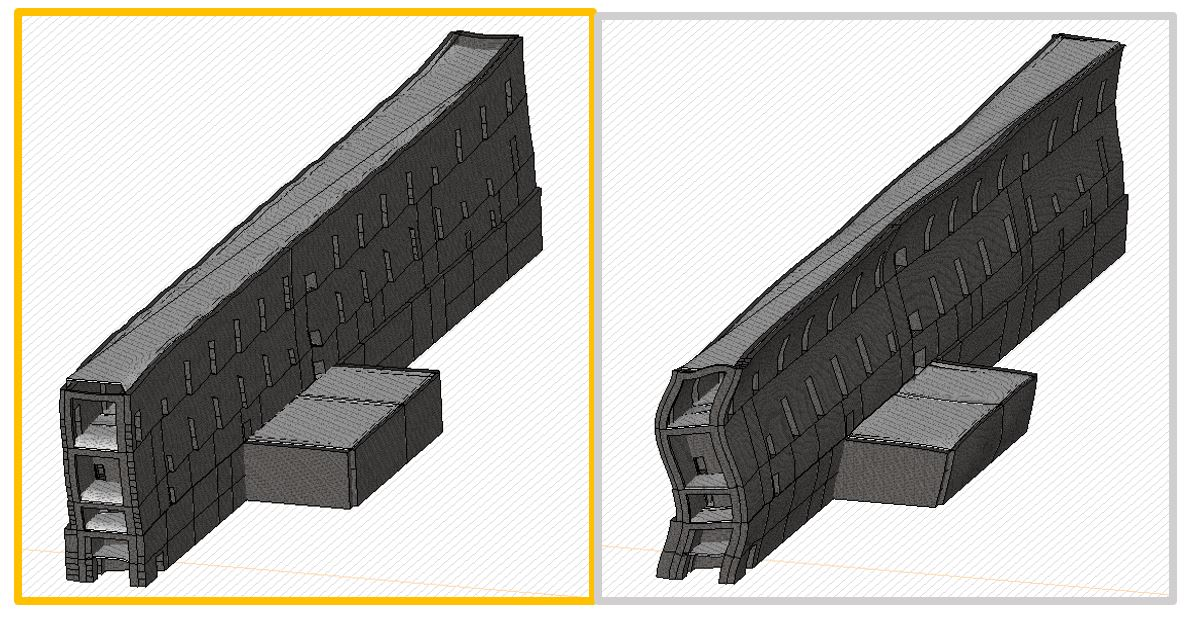 castello rivoli discretizzazione 3d manica lunga1