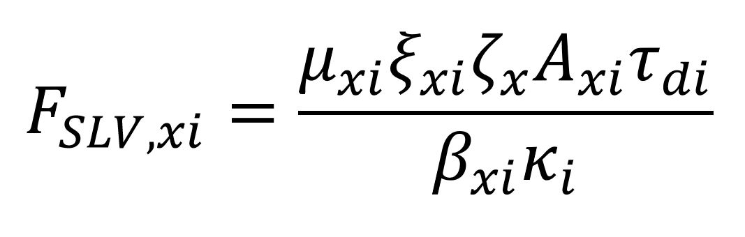 Fslv formula