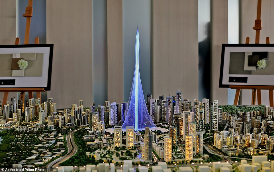 Dubai Tower di Santiago Calatrava