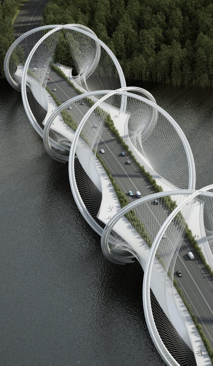 Il nuovo ponte di Pechino