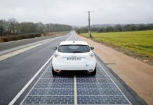 strada solare Francia