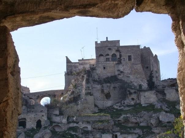 castello normanno inconsueto mimmo ribecco