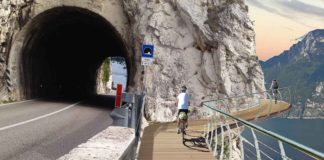 Tratto Limone confine Trento progetto