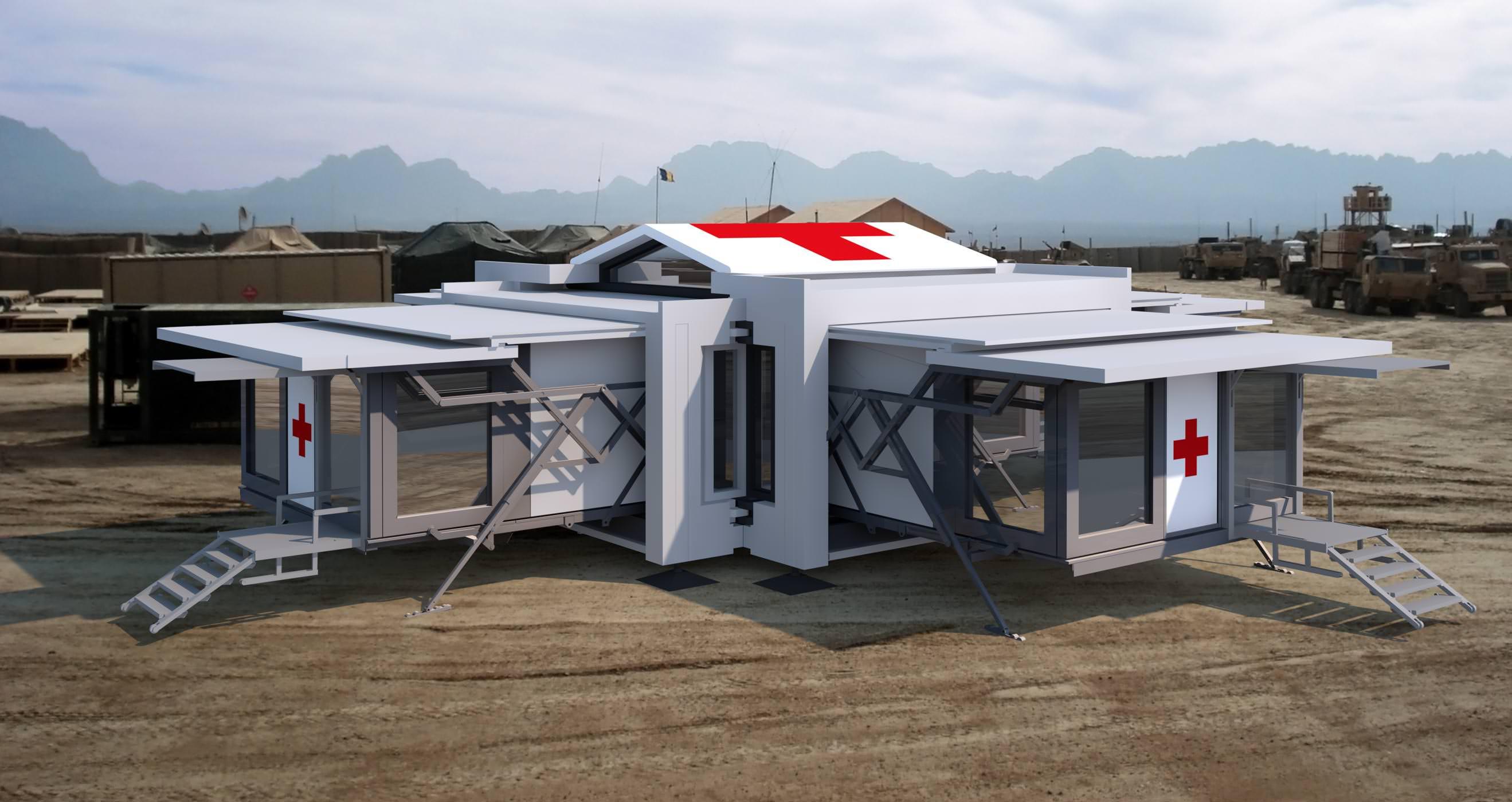 ten fold engineering ospedale trasportabile